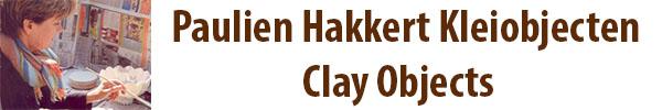 Paulien Hakkert Kleiobjecten Clay Objects