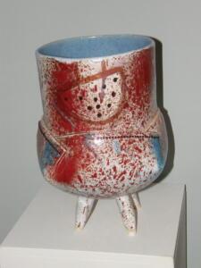Paulien keramiek Wild op poten (verkocht)